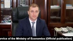 Министр экономики Абхазии Адгур Ардзинба