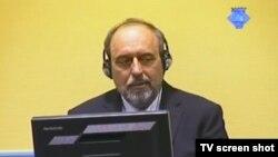 Goran Hadžić tokom suđenja