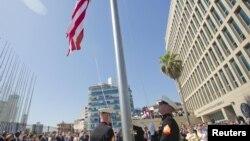 Открытие посольства США в Гаване после более чем 50-летнего перерыва 14 августа 2015 года.