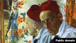 А. Я. Головин. Портрет Всеволода Мейерхольда, 1917 год