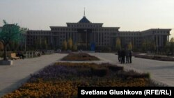 Офис министерства обороны Казахстана в Астане.