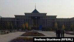 Астанадағы Қазақстанның қорғаныс министрлігі.