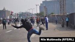 Столкновения в Каире 19 ноября