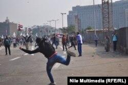 Столкновения на площади Тахрир в центре египетской столицы - Каира