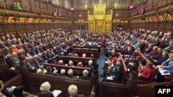 نمایی از مجلس اعیان بریتانیا (عکس از آرشیو)