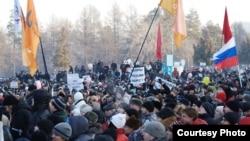 Челябинскидеги митинг, 10-декабрь, 2011