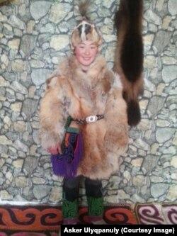 Живущая в Монголии этническая казашка Айгерим Аскер.