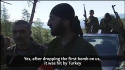 Türkmenler rus pilotlaryny öldürdik diýýärler