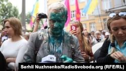 Віталій Шабунін в зеленці