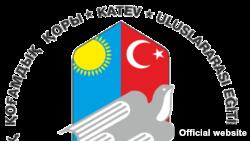 Қазақстандағы қазақ-түрік лицейлеріне демеушілік көрсететін KATEV халықаралық қоғамдық қорының логосы.