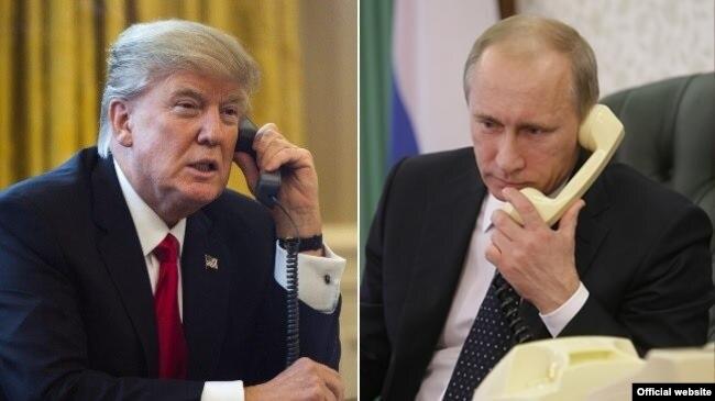 Переговоры Трампа с Путиным