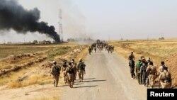 Forcat kurde në Daquq të Irakut