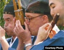 Японские музыкальные инструменты (фото: Ирина Генис)