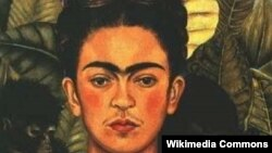 Frida Kahlo, autoportret din anii 1940