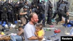 Венгрия разогнала мигрантов на сербско-венгерской границе