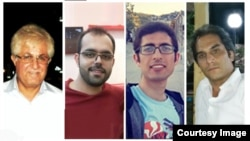 امین افشارنادری، کاویان فلاح محمدی، هادی عسگری و ویکتور بتتمرز