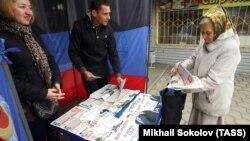 Эпизод подготовки к выборам в Донецке, 29 сентября 2016