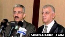 من اليمين:مولوي جبار وهيرش محمد