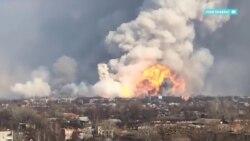 Что может стоять за взрывами на военных складах Украины