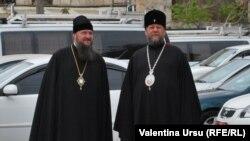 Mitropolitul Vladimir cu Episcopul Sava de Dubăsari și Tiraspol la Ierusalim