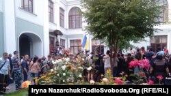 Протестувальники біля прокуратури Одеської області, 20 вересня 2017 року