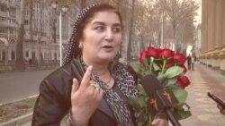 101 садбарги Сурайё зидди хушунати занон дар Тоҷикистон