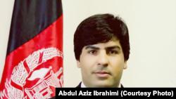 د انتخاباتو کمېسیون مرستیال ویاند عبدالعزیز ابراهیمي