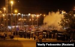 Акция протеста в Минске 10 августа 2020 года