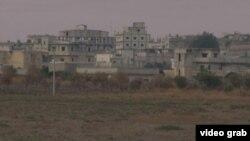 Pamje e kufirit të Turqisë afër Sirisë