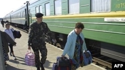 The Kaliningrad Transit Scheme allows Russian citizens to smoothly transit to and from Kaliningrad from other parts of Russia via Lithuania. (file photo)
