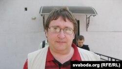 Аляксандар Фядута ў Горадні.