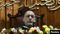 حامد کرزی، رئیس جمهور افغانستان
