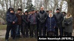 Nikolay Polozov qırımtatarlar arasında, 18 yanvar 2017 senesi