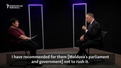 Moldovan President Sees NATO Office As Provocation