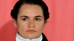Светлана Тихановская: Лукашенко халықтың шегінбейтінін біліп отыр