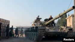 Алепподағы соғыс қимылдары, Сирия (Көрнекі сурет).