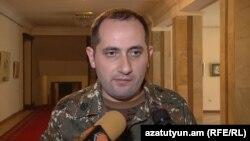 Պաշտպանության նախարարի ավագ օգնական Ալիկ Ավետիսյանը