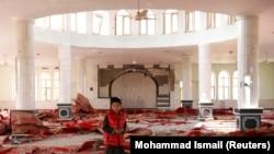 Baqram bazasına hücum zamanı ziyan görmüş məscid