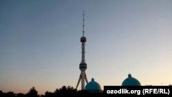 Ташкентская телебашня.