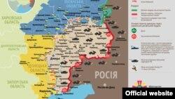 Ситуація в зоні бойових дій на Донбасі, 27 серпня 2015 року