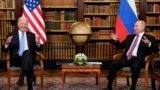 Путин ва Байден. Женева, 16 июн, 2021.
