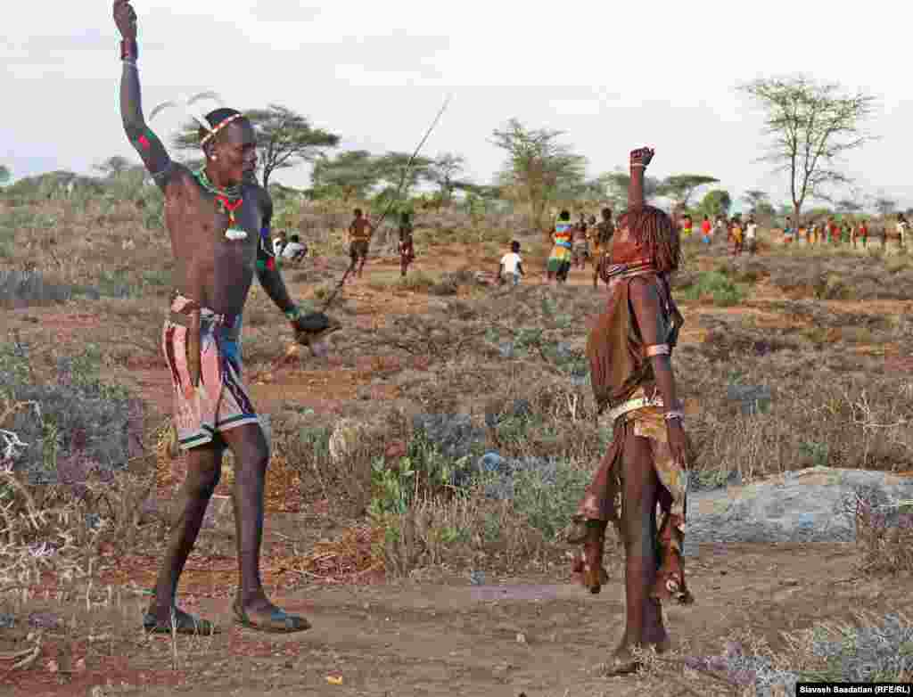 سنت زدن ترکه- قبیله هَمَر