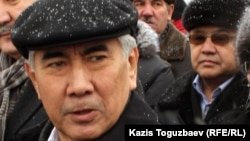Лидер Общенациональной социал-демократической партии Казахстана (ОСДП) Жармахан Туякбай.
