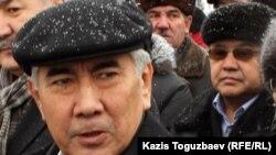 Сопредседатель ОСДП Жармахан Туякбай. Алматы, 17 января 2012 года.