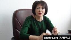 Галия Жусипова, директор управления по защите прав детей Южно-Казахстанской области. Шымкент, 17 февраля 2014 года.