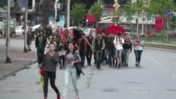 Sobranje treća sreća za demonstrante