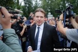 Максим Знак. Минск, 21 августа 2020 года