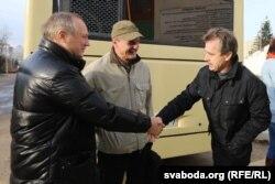 Анатоль Лябедзька і Ўладзімер Някляеў