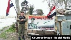 """Российские солдаты в Сирии – фото из аккаунта в социальной сети """"ВКонтакте"""""""