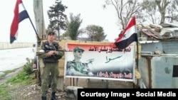 Ruski vojnik u Siriji, sa društvenih mreža